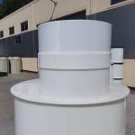 Plastový nadstavec na nádrž