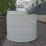 Podzemná plastová nádrž NV