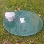 Plastová vsakovacia nádrž