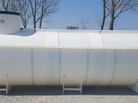 Ležaté plastové nádrže