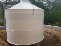 Plastové nádrže na vodu