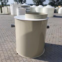 Plastový odlučovač ropných látok ORL 3  Plastové odlučovače ropných látok rady ORL...