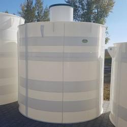 Plastová nádrž NV 10  Zváraná plastová nádrž na použitie do sťažených podmienok,...