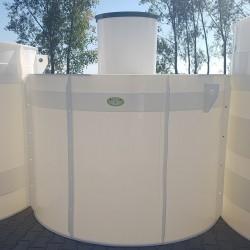 Plastová nádrž NV 4  Zváraná plastová nádrž na použitie do sťažených podmienok, kde...