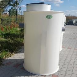 Plastový odlučovač ropných látok ORL 1,5  Plastové odlučovače ropných látok rady...