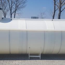 Ležatá podzemná plastová nádrž PL 11  Ležatá zváraná podzemná plastová nádrž rady...