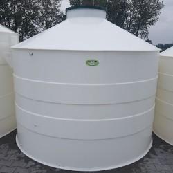 Plastová žumpa PN 7  Stojatá zváraná podzemná plastová nádrž vyrobená z...