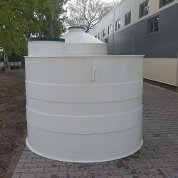 Plastová nádrž NV 2,5  Zváraná plastová nádrž na použitie do sťažených podmienok,...