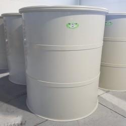 Potravinárska nádrž PTN 2500l  Stojatá zváraná nadzemná plastová nádrž vyrobená z...