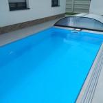 Plastový bazén skimmer 6m x 3m